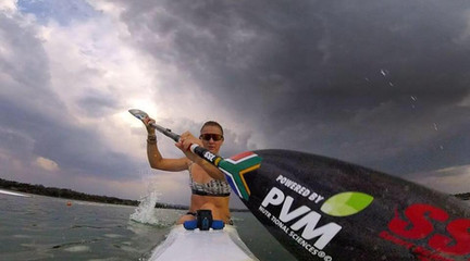 Esti van Tonder SSL SA Kayak Athlete
