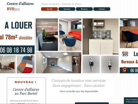 Nouveau site pour le centre d'affaires RVH355