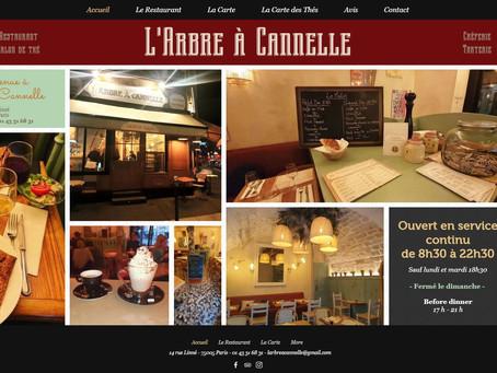 Nouveau site pour l'Arbre à Cannelle