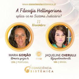 """Fundadora do Congresso Internacional """"Consciência Sistémica"""" promove Live com Juíza brasileira"""