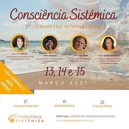 "Jaqueline Cherulli tem presença confirmada no ""2º Congresso Internacional Consciência Sistémica"""