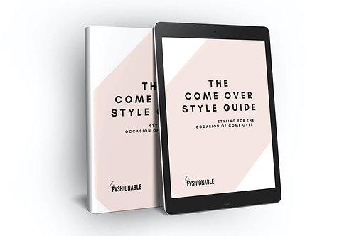 Come Over Style Guide | E-Book