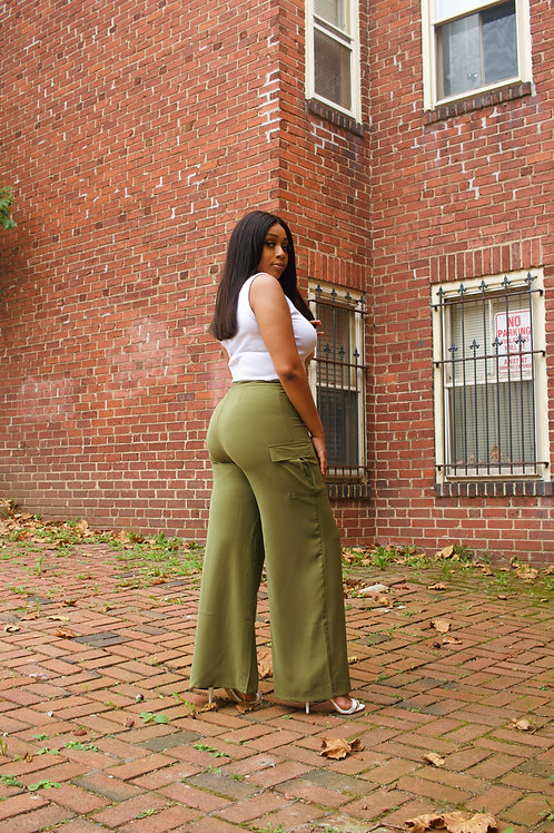 All Attention   Wide Leg Pants