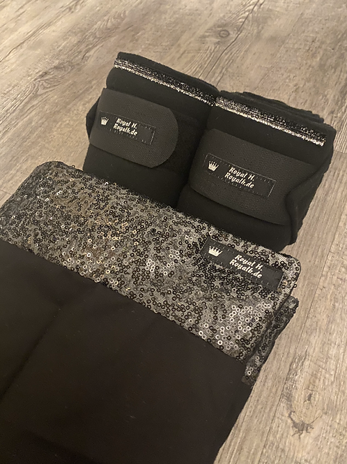 Bandagierunterlagen; Bandagen Pailletten Set