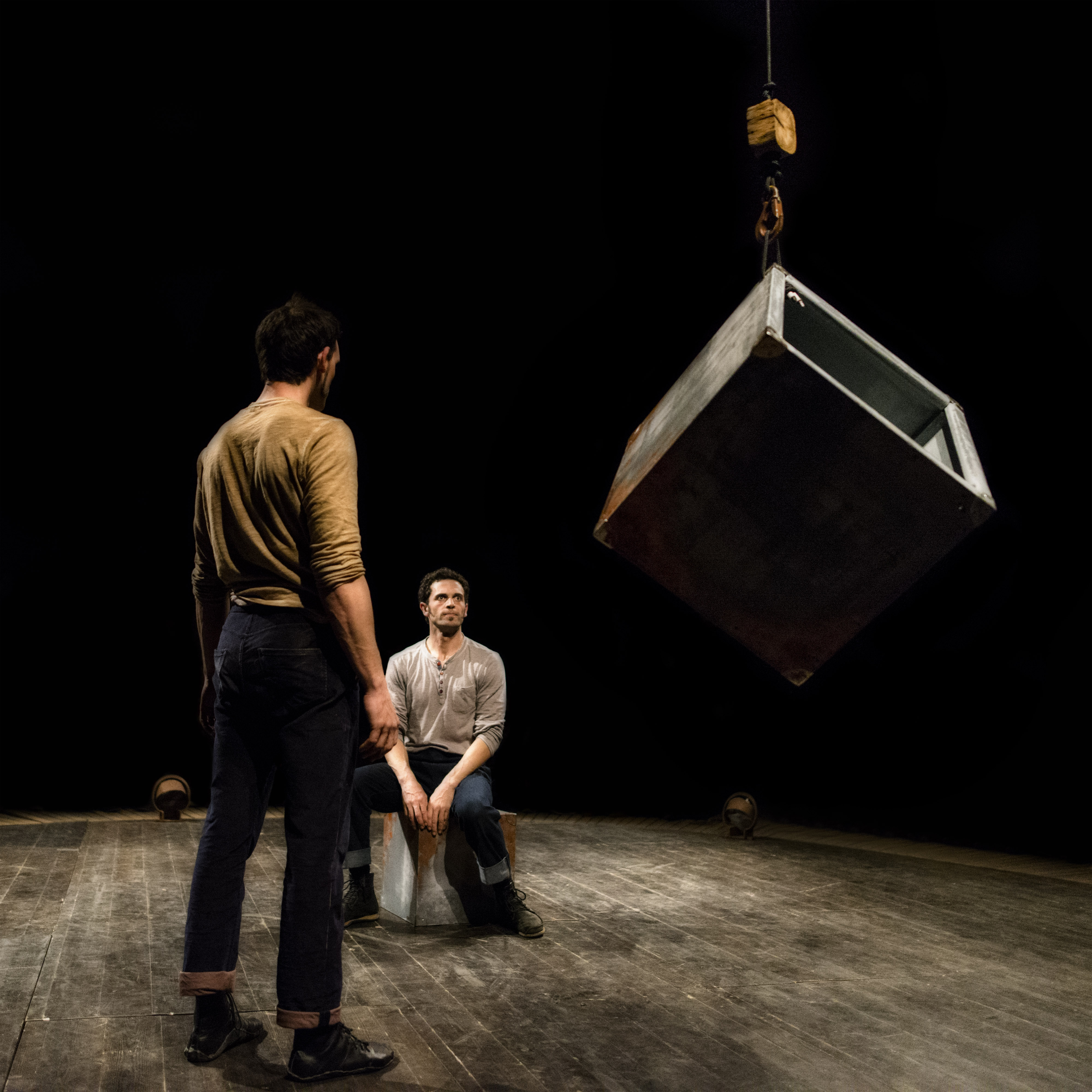 Cie 3 x Rien - Entre Chien et loup - Photo Julien Fortel
