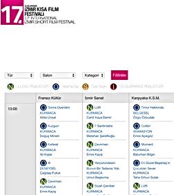 MOMENT filmi 11' 'incisi düzenlenen Boston Turkish Film Festivalde Finalist olarak seçilirken, Türkiyede 17 ncisi düzenlenen Uluslararası Kısa Film Festivalinde 3 Kasım Tarihinde gösterim hakkı kazanmıştır.    Filmi izlemek isteyenler, 3 Kasım 2016 tarihinde Karşıyaka Sanat Merkezi salonunda saat 13:00 - 15:00 saatleri arasında gösterimde olacaktır.