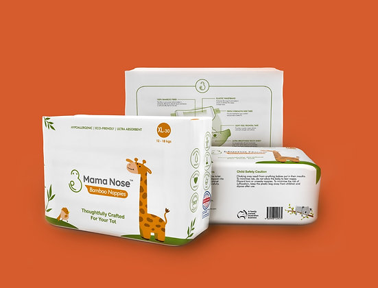 Trial Bundle - One Pack Nappies & Wipes