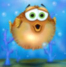 P is for pufferfish #animalalphab _anima
