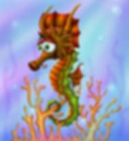 Japanese Seahorse for #animalalphabets _