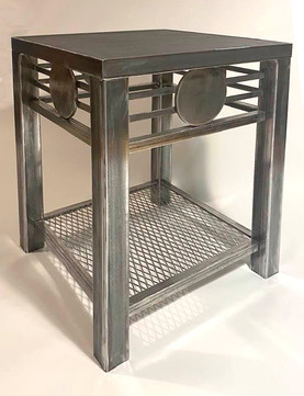 Slate top deco table