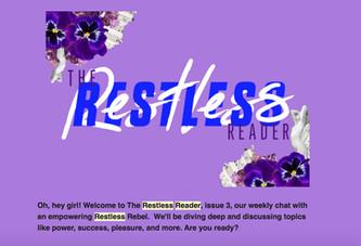 The Restless Reader Header