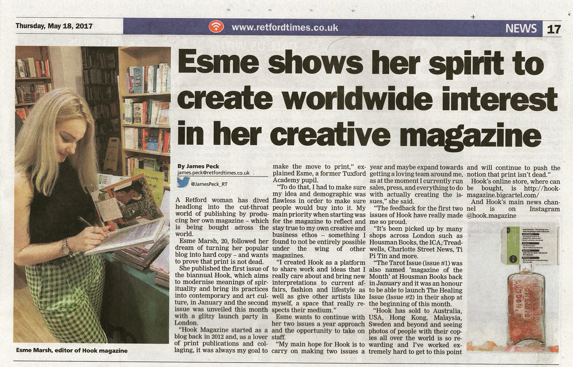 Retford Times Feature