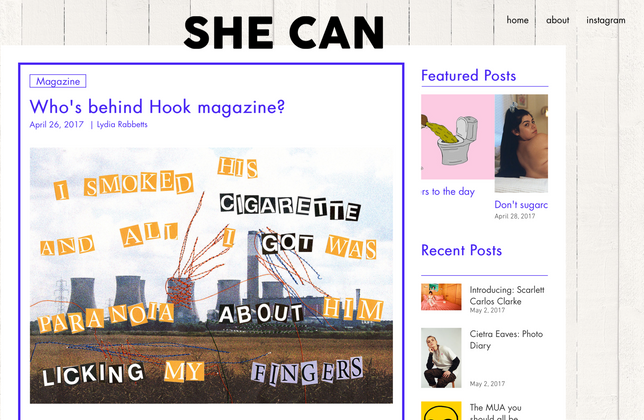 Interview & Feature with She Can