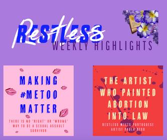 The Restless Reader Weekly Highlights Header