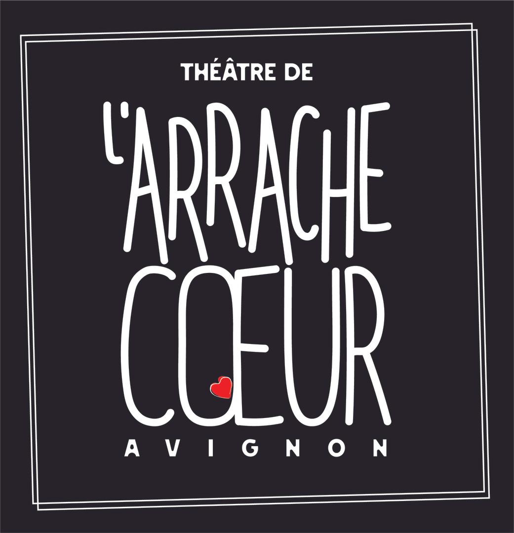 """Le logo du théâtre de """"L'Arrache Coeur""""'"""""""