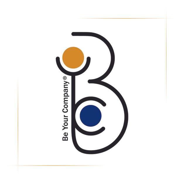 Le logo de Be Your Company.
