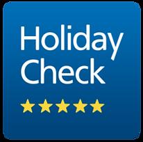 Bewerten Sie uns bei Holidy Check