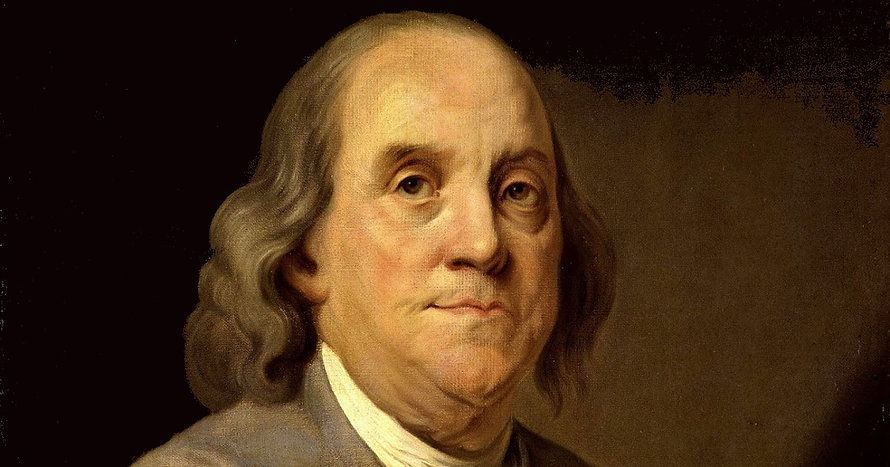 This picture of Benjamin Franklin shows how he looks without bifocals. Ben invented bifocals.  If he were alive today, he would definitely want bifocal contacts!