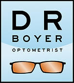 The logo for Dr Boyer optometrist for his Claremont optometrist and La Verne Optometry clients