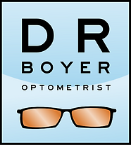 Dr Boyer Optometrist logo. Dr Boyer can help you make a decision whether laser eye surgery is for you.