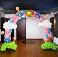 卡通氣球拱門 B