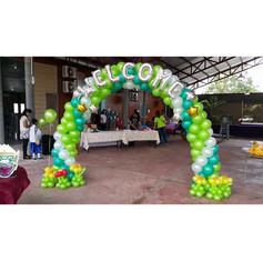 原野氣球拱門