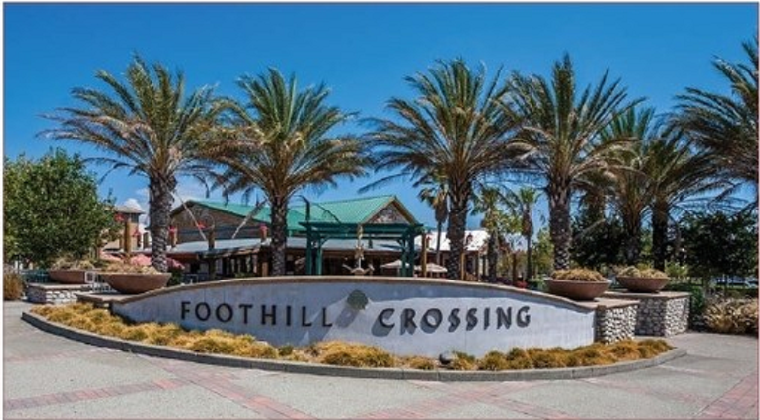 Foothill crossings