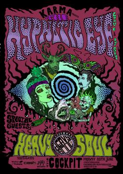 HYPNOTIC EYE poster