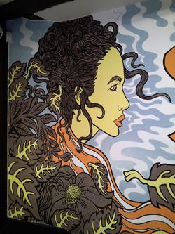 Chinese Laundry York mural