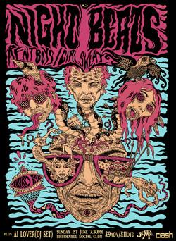 NIGHT BEATS poster