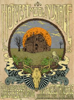poster for Harvest Moon Vintage