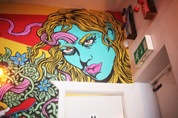 Mural for The Hedonist Project