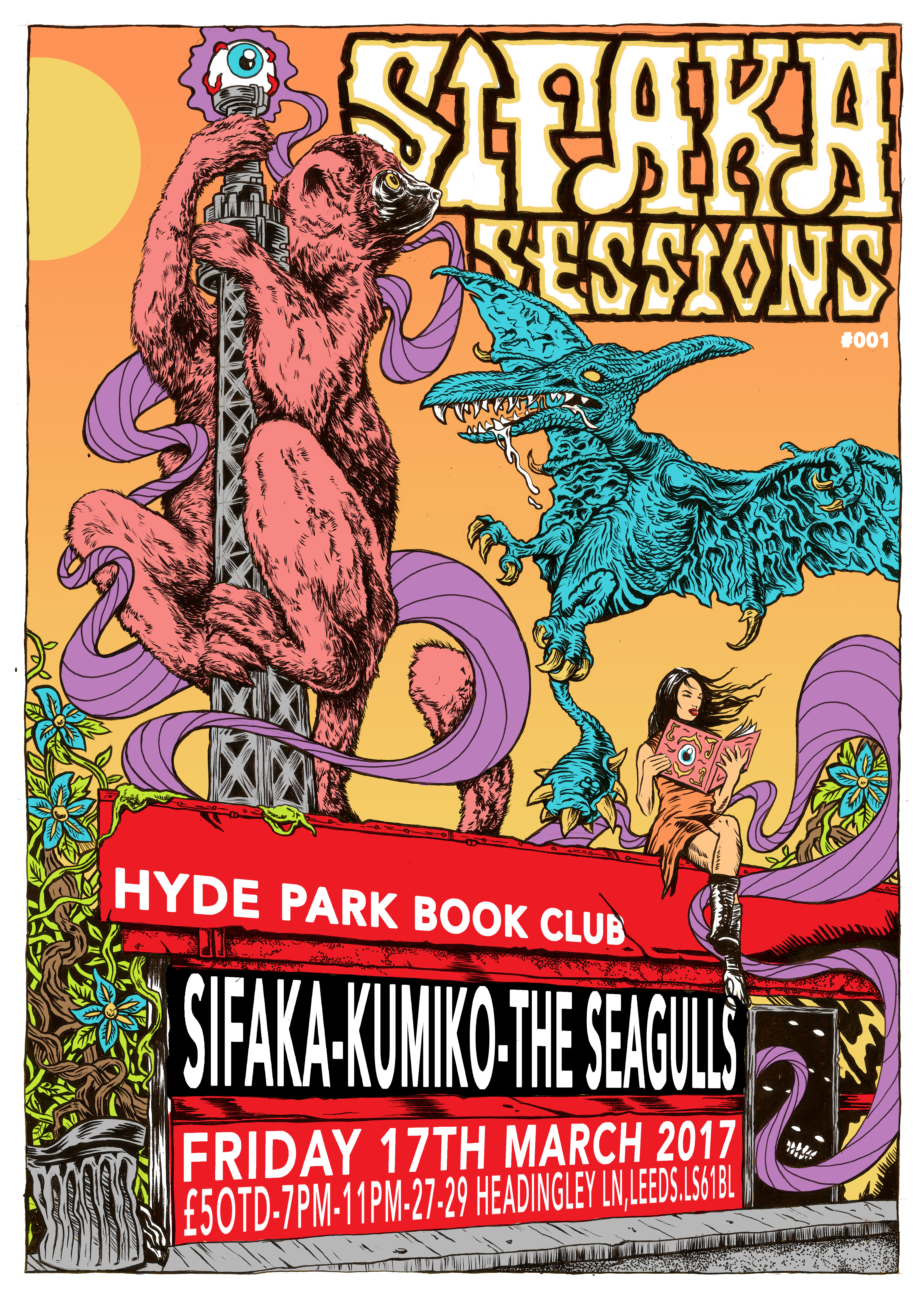 Sifaka Sessions Poster