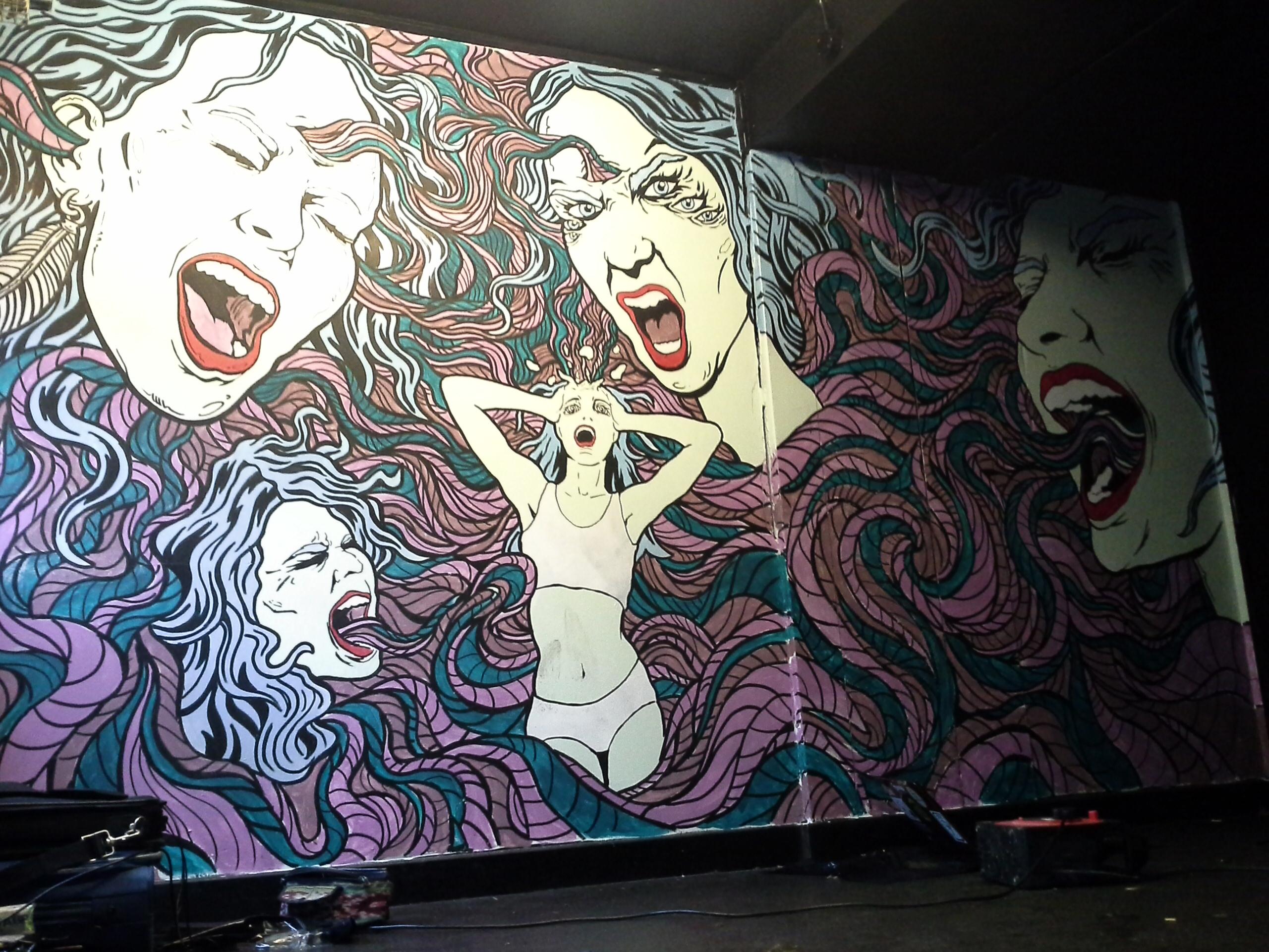 rock city mural