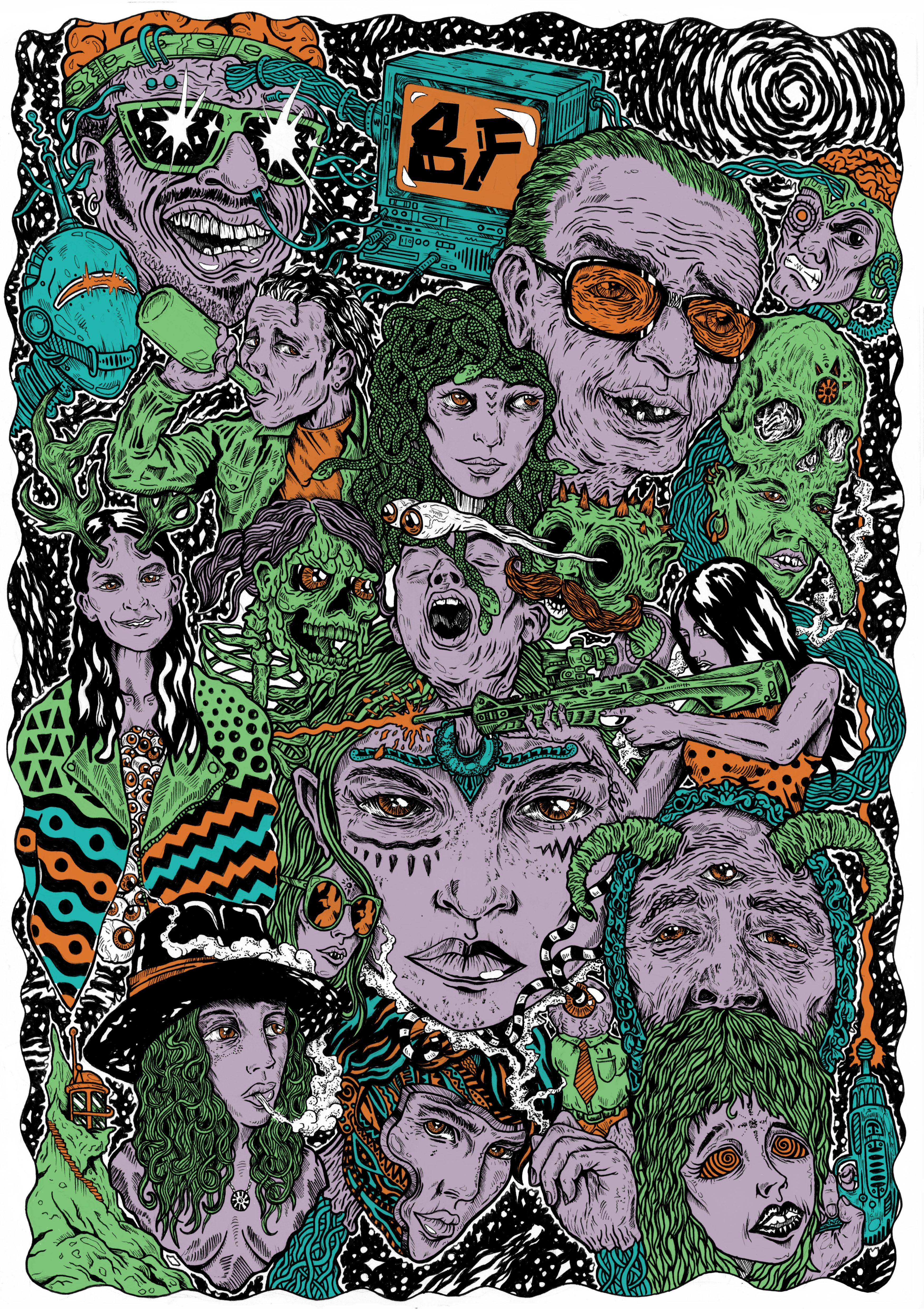 BRAINFEEDER poster