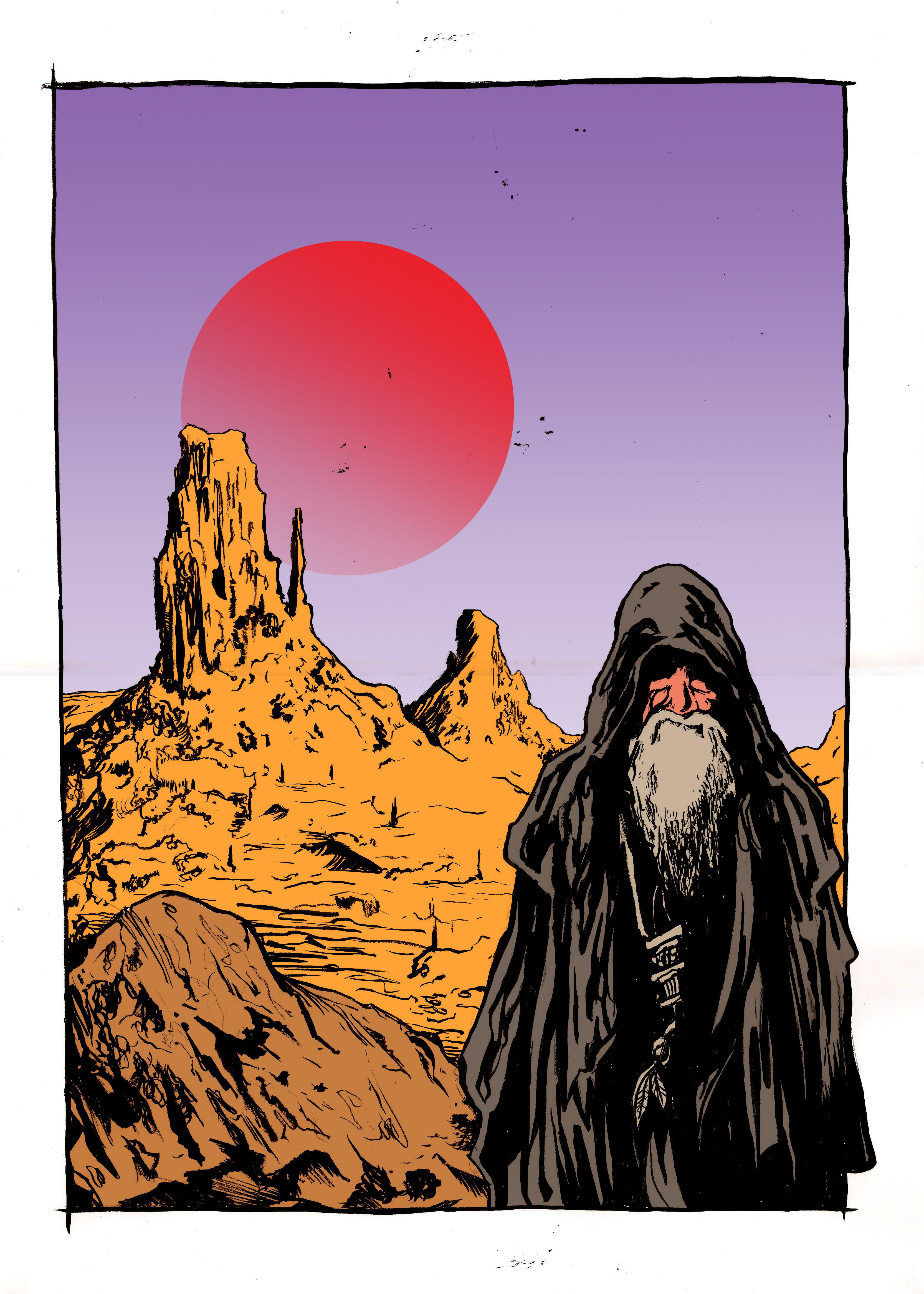 Desert Wizard