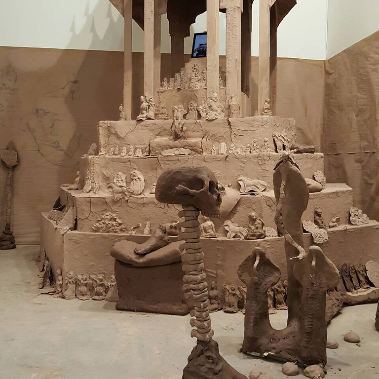 Art Stage Singapore: The Decoy of Indra by Prasert Yodkaew and Richard Streitmatter-Tran