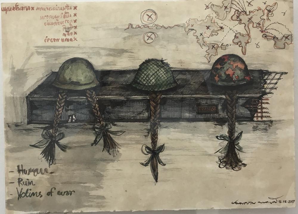 Ruin Sketch 2