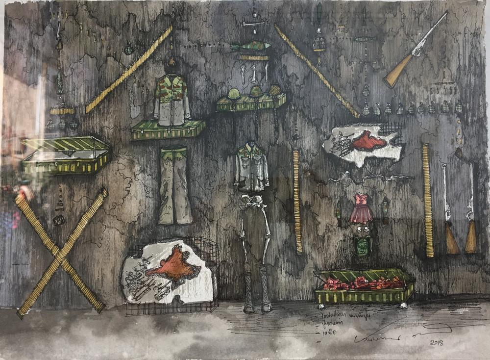 Ruin Sketch 1