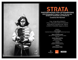 STRATA Photo Pop-Up Exhibitions opening coverage by Fineart Magazine Thailand