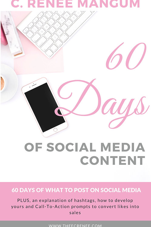 60 Days of Social Media Content eBook