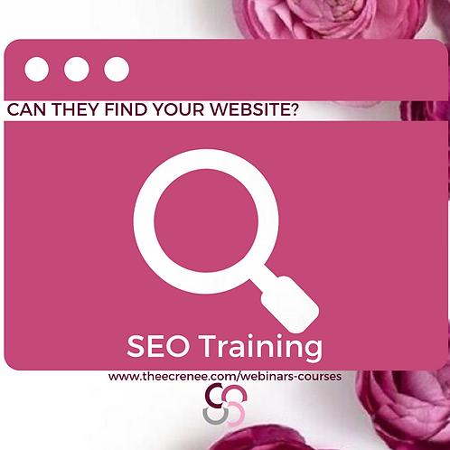 SEO Training Webinar