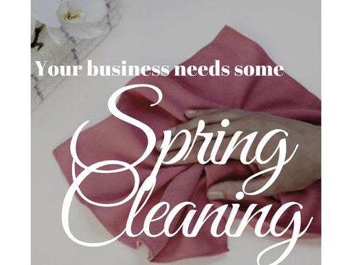 Business Spring Cleaning Quick List