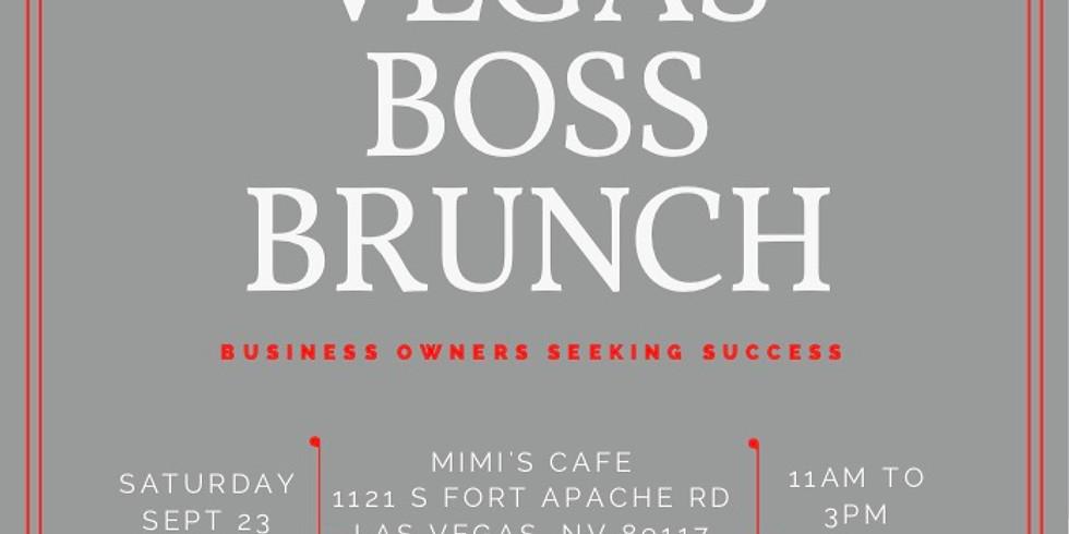 BOSS Brunch Vegas