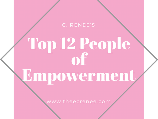 My Top 12 People of Empowerment for 2017