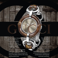 Gucci Watch Ad