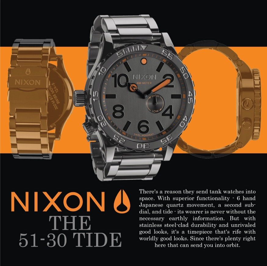 Nixon Watch Ad