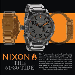 Nixon Watch Ad