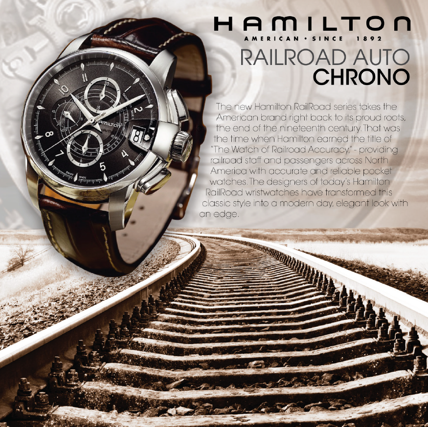 Hamilton Watch Ad