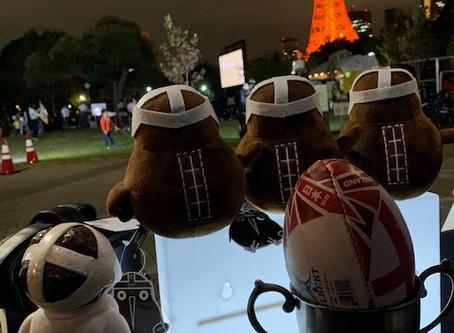 ワールドカップが終わって秋シ-ズンが始まります。